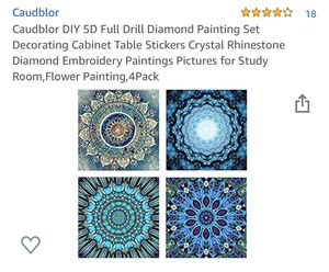 2- Diamond Painting Pieces for Sale in Snohomish, WA