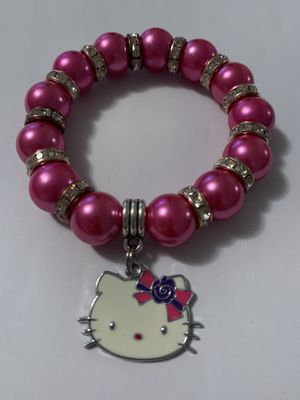 Hello kitty bracelet hand made ! for Sale in Miami, FL