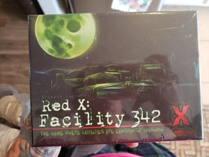 Red X: Facility 342 Board and Card Game, New for Sale in Las Vegas, NV