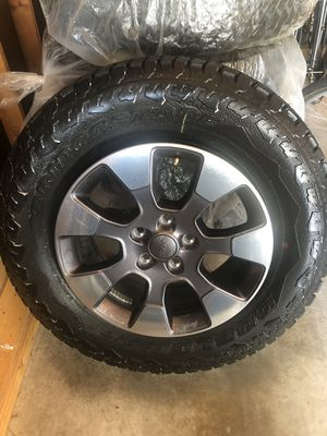 2018 Jeep Wrangler JL Wheels and tires for Sale in Houston, TX