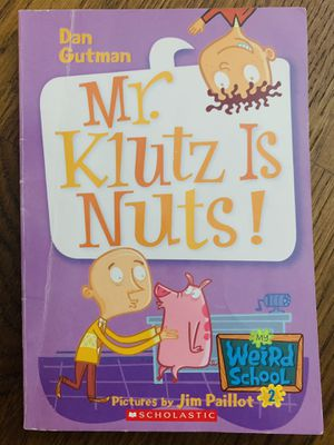 Mr. Klutz is Nuts. Funny interesting book. 1-2nd grader. 96 pages. for Sale in Schaumburg, IL