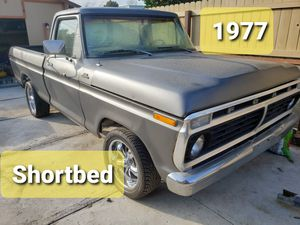 Ford F100...shortbed...selling the whole truck motor for parts for Sale in Riverside, CA