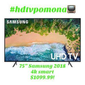 """75"""" Samsung 4k smart 2018 model! for Sale in Diamond Bar, CA"""