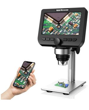 4.3 Inch 1080P 2 Megapixels 1000X Magnification Zoom Wireless USB Stereo Microscope Camera, Compatible with iPhone Android, iPad MAC Windows for Sale in Corona, CA