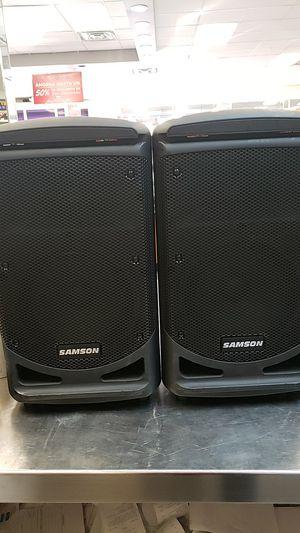 Samson speakers for Sale in San Antonio, TX