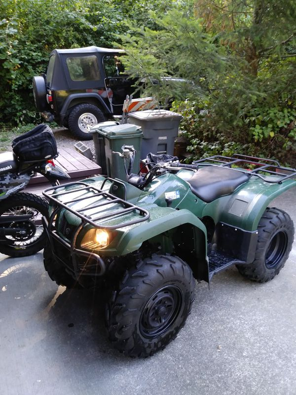 2014 Yamaha grizzly low hours