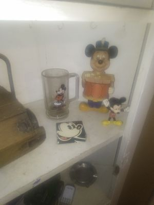 Micky mouse antiques an collectables. for Sale in Dubuque, IA