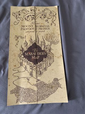 Harry Potter marauders map for Sale in Alexandria, VA