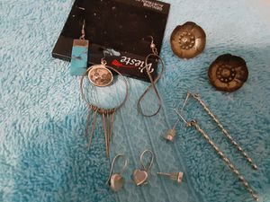 SILVER EARINGS for Sale in River Grove, IL