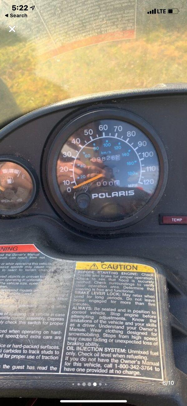 Polaris Indy 500 cc liquid cooled snowmobile