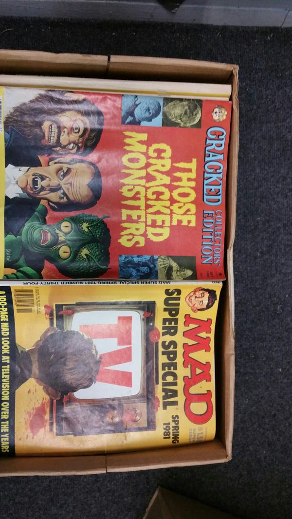 Comic books Cards Elvis Collectables Mad magazine