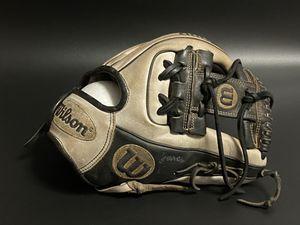 "Wilson's A2000 DP15 11.5"" Baseball Glove Grey/Black for Sale in Garden City, NY"