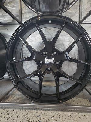 20x8.5 and 20x9.5 5x114 et35 BBS RI rep black wheels fits mustang 350z g35 g37 rim wheel tire shop for Sale in Tempe, AZ