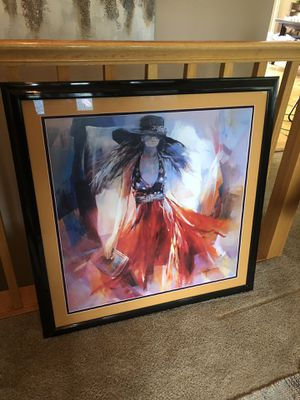 Fashion Girl Matted & Framed Print for Sale in Wasilla, AK