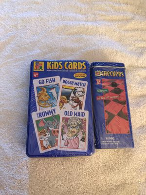 2 Pack Cards and checkers GT • for Sale in Hayward, CA