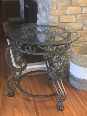 Glass end table for Sale in Phoenix, AZ