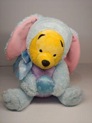 Disney Store Easter Bunny Winnie Pooh Plush Stuffed Animal Blue Costume Egg for Sale in Santa Ana, CA