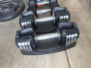 5-25lb Adjustable Dumbbell Weight Set for Sale in Chesterfield, MO