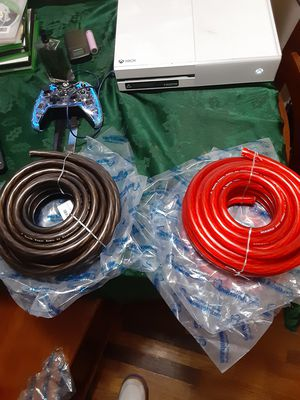 0 Guage Power/Ground Wire 25 foot rolls 1 black and 1 red for Sale in Tacoma, WA
