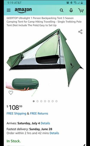 Camping tent for Sale in Laveen Village, AZ