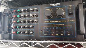 Yamamitsu YM 2000 Digital Sterio Echo Mixing Amplifier for Sale in Daly City, CA