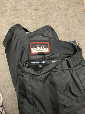 BILT WINTER MOTORCYCLE PANTS AND PADS WITH REMOVAL LINER. for Sale in Seattle, WA