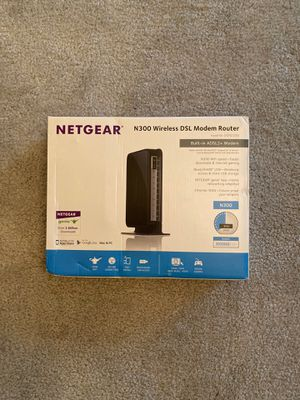 Netgear DSL Modem Router for Sale in Alexandria, VA