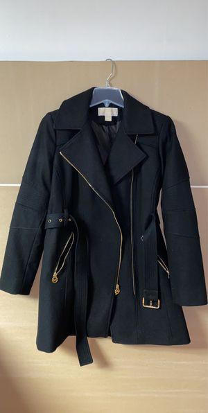 Michael Kors dressy coat. Black winter coat. fancy coat for Sale in Detroit, MI