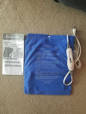 NEW SUNBEAM HEATING PAD for Sale in Chicago, IL