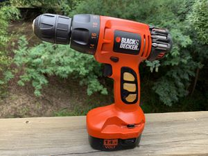 Black and Decker Cordless Power Drill Tool Model: CD140G for Sale in Mill Valley, CA
