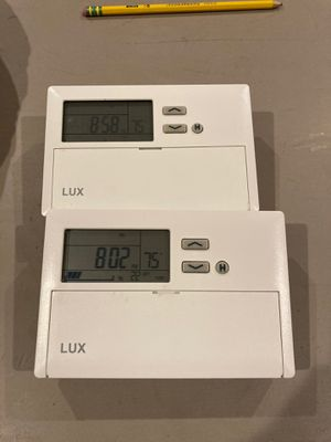Lux thermostats for Sale in Madison, CT