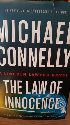 Michael Connelly book - The Law of Innocence for Sale in Destin, FL