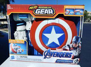 avengers infinity war nerf captain america assembler gear for Sale in Las Vegas, NV