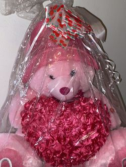 Valentines Pink Teddy Bear for Sale in Modesto,  CA