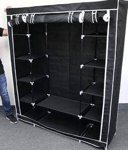 $35 New in box wardrobe closet storage fabric clothing organizer 60x17x68 inches for Sale in Whittier,  CA