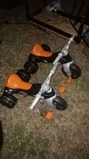 Two Harley Davidson brand toddler tricicles for Sale in Austin, TX