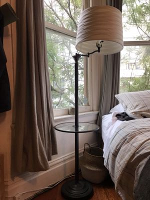 1 floor lamp with glass tray, 2 table lamps for Sale in San Francisco, CA