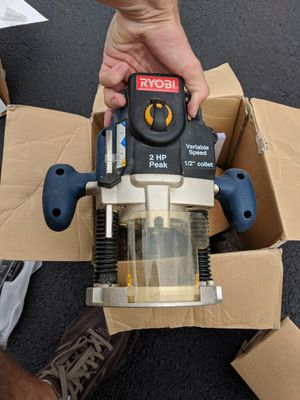 Plunge Router:Ryobi Model: RE180PL1 for Sale in Frederick, MD