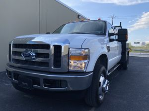 2008 Ford F-350 F350 Flat Bed Crew Cab Super Duty 4x4 6.4 L Diesel 79K Mikes 1-Owner for Sale in Houston, TX