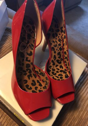 Jessica Simpson Red Heels $40 for Sale in Cleveland, OH