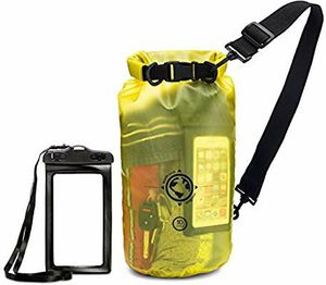 Waterproof Bag-20L Sizes - Transparent Dry Bag - Keep Your Stuff Safe and Secure While at The Beach, Swimming, Fishing, Boating, for Sale in Torrance, CA