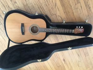Jasmine acoustic guitar and case for Sale in Chico, CA