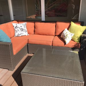 Outdoor Sectional and Table for Sale in Glendora, CA