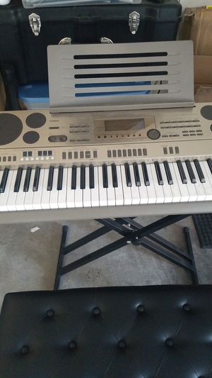 Casio AT-3 Keyboard w/Stand and bench for Sale in Henderson, NV