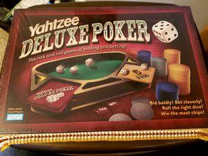 Yahtzee Deluxe Poker for Sale in West Palm Beach, FL