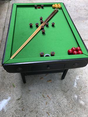 Bumper pool table for Sale for sale  Jonesboro, GA