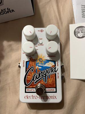 Electro Harmonix Canyon Guitar Pedal (like new) for Sale in Huntington Beach, CA