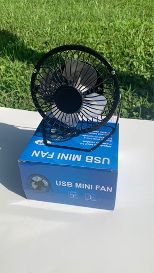 (Brand New) USB MINI FAN Works Very Well for Sale in Cheltenham, PA