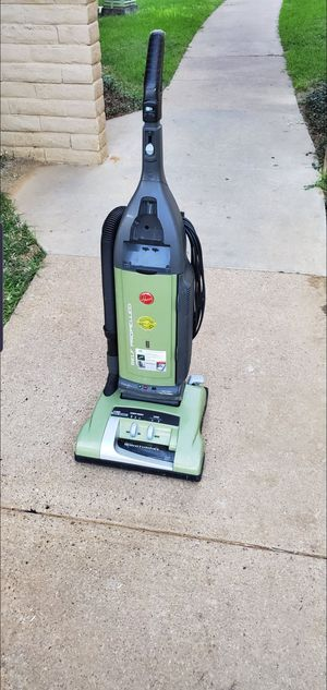 hoover self propelling vacuum cleaner. for Sale in Fort Worth, TX