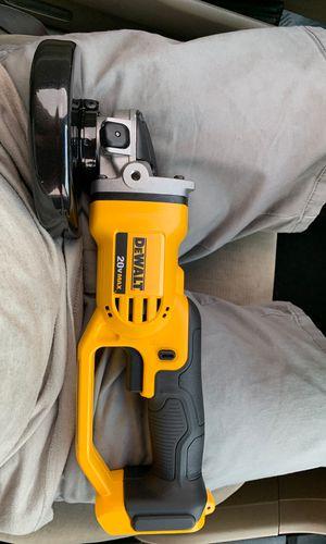 Dewalt grinder 20v for Sale in Fort Worth, TX